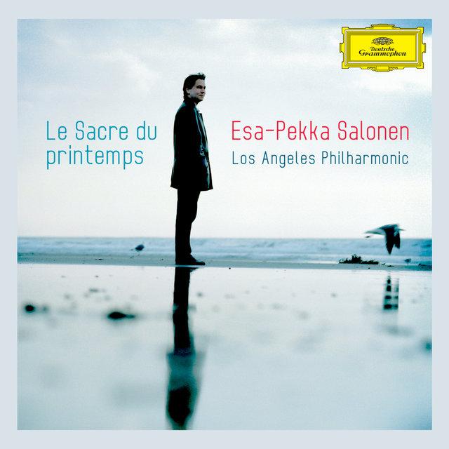 Cover art for album Stravinsky: Le Sacre du Printemps / Bartók: The Miraculous Mandarin Suite / Mussorgsky: A Night On The Bare Mountain by Los Angeles Philharmonic, Esa-Pekka Salonen