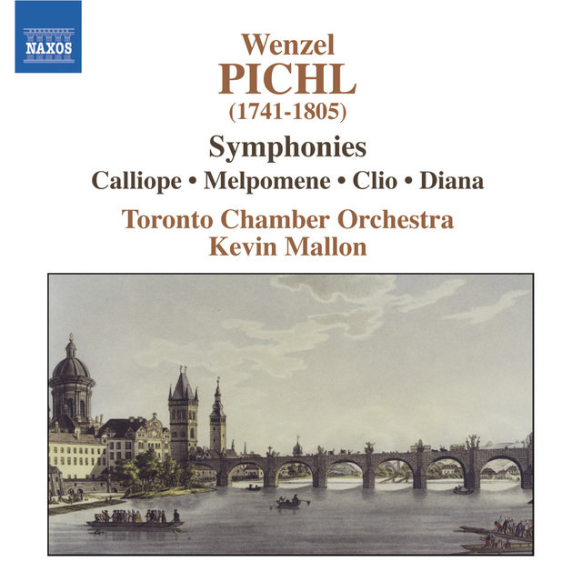 Cover art for album Pichl: Symphonies by Kevin Mallon