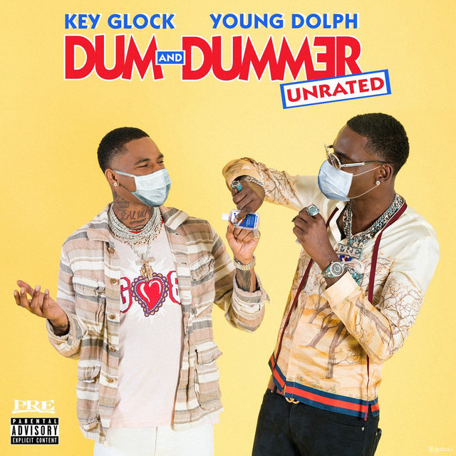 Cover art for album Dum and Dummer by Young Dolph, Key Glock