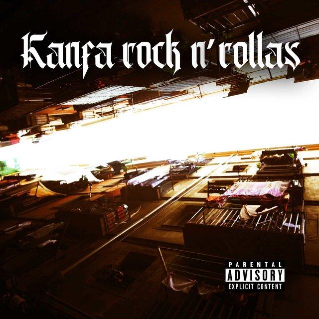 Cover art for album Kanfa Rock N´ Rollas by Kasta Mad, Daniel Mutante, Necrojocker, El Puto Coke