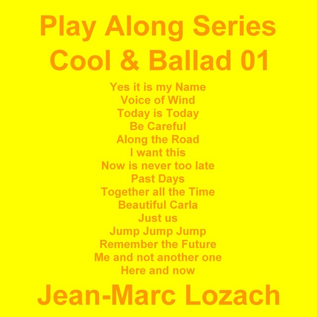 Play Along Series Cool & Ballad 01