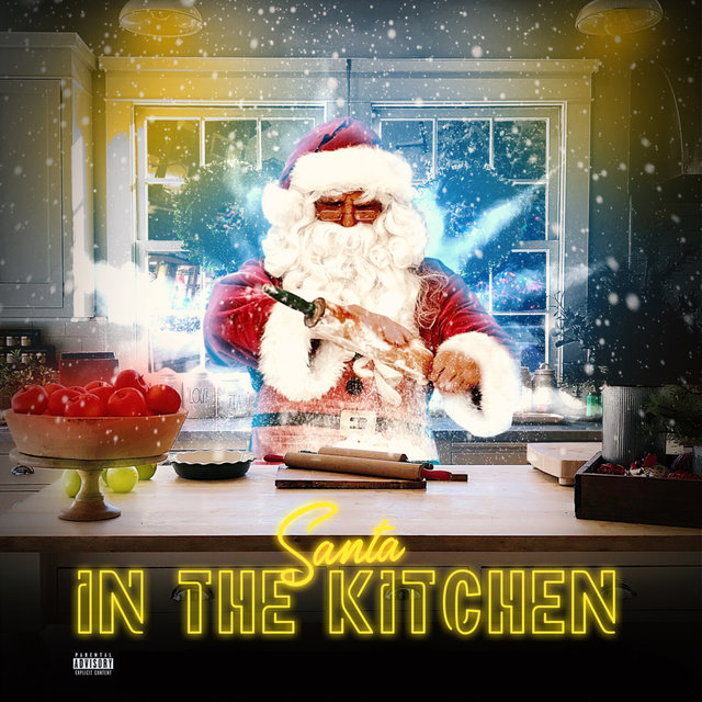 Santa In The Kitchen