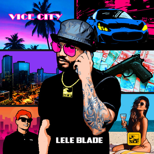 Cover art for album Vice City by Lele Blade