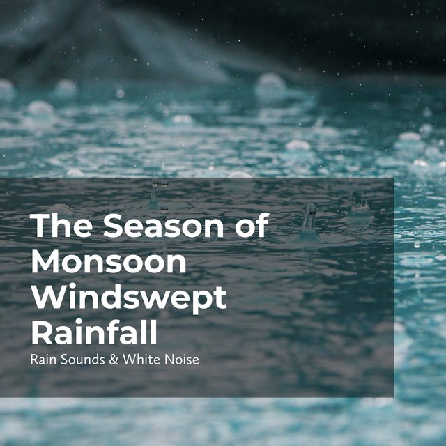 The Season of Monsoon Windswept Rainfall