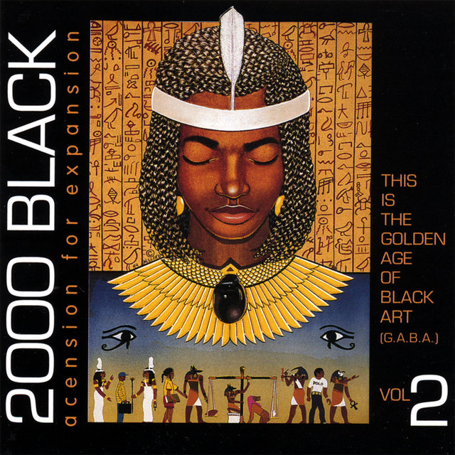 Cover art for album  by 2000 Black