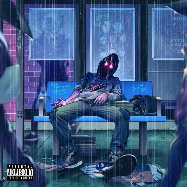 Cover art for album Substance Abuse by Rigz, Futurewave