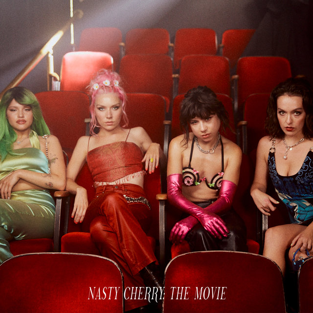 Cover art for album The Movie by Nasty Cherry