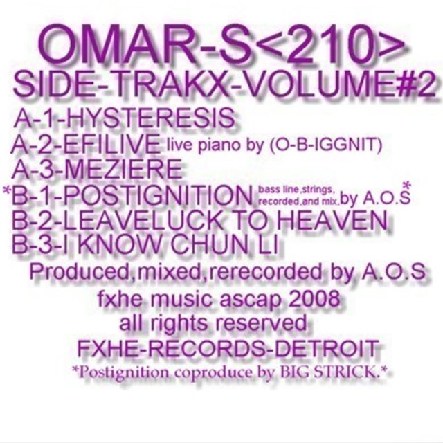 Side-Trakx, Vol. 2