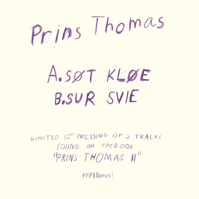 Prins Thomas 2 Bonus Tracks