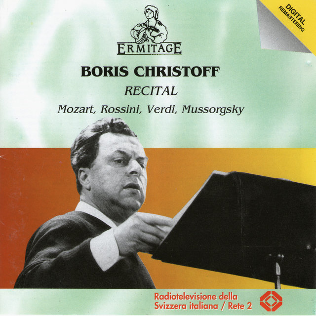 Boris Christoff Recital
