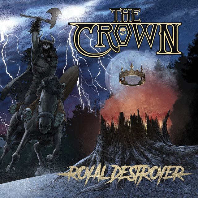 Cover art for album  by The Crown