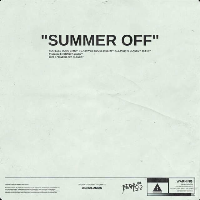 Summer Off (feat. Goose Dinero & Kil)