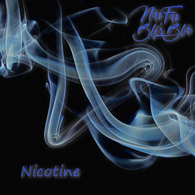 Cover art for album Nicotine by Når Far Bli'r Blå