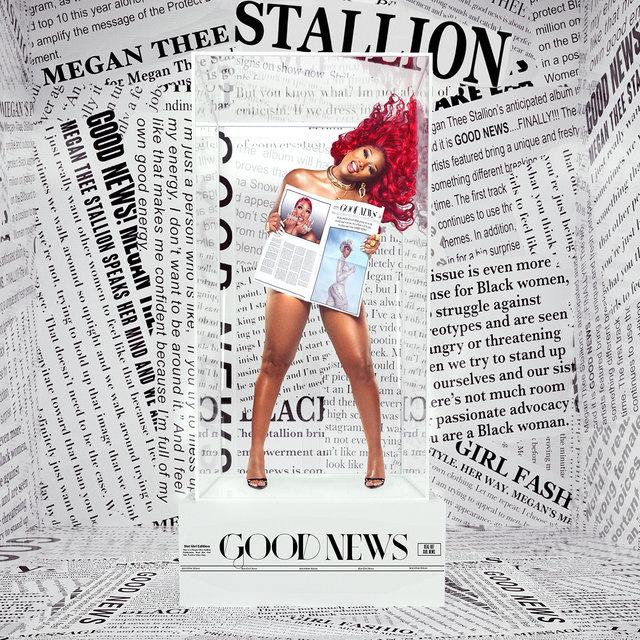 Cover art for album Good News by Megan Thee Stallion
