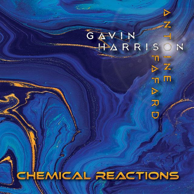 Cover art for album Chemical Reactions by Antoine Fafard, Gavin Harrison, Jerry Goodman, Janacek Philharmonic Orchestra
