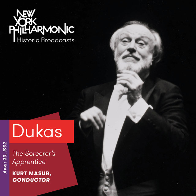 Dukas: The Sorcerer's Apprentice (Recorded 1992)