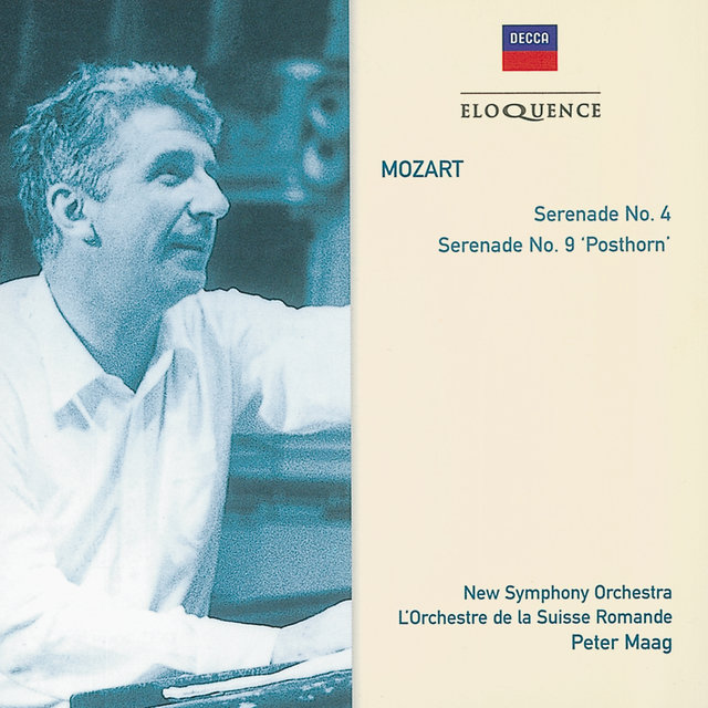 MOZART: Serenades 4 in D K203