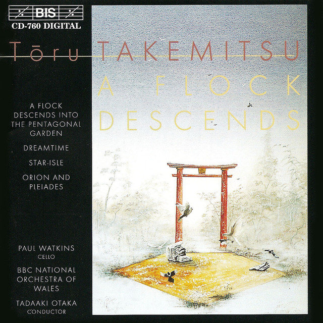 Takemitsu: Flock Descends Into the Pentagonal Garden (A)