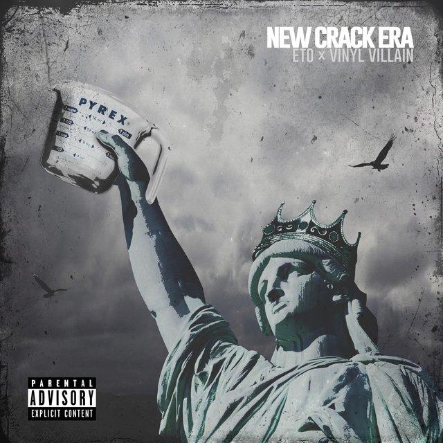 Cover art for album New Crack Era by eto, Vinyl Villain