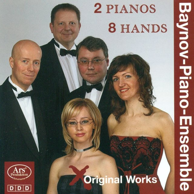 Piano Ensemble Recital: Baynov Piano Ensemble - Gurlitt, C. / Horvath, G. / Smetana, B. / Grainger, P. / Ikonomov, S. (Original 2 Pianos 8 Hands)