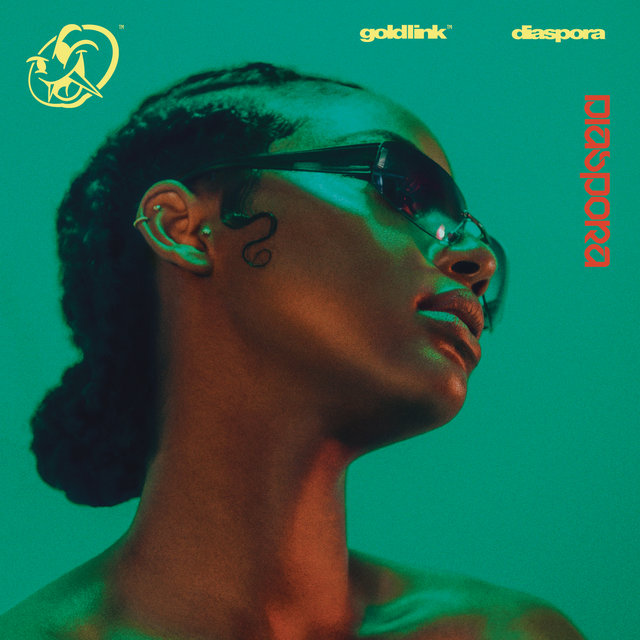 Cover art for album Diaspora by GoldLink