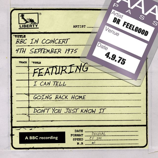 Dr Feelgood - BBC In Concert (4th September 1975)