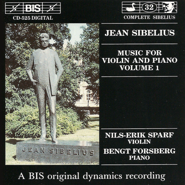 Sibelius: Music for Violin and Piano, Vol. 1