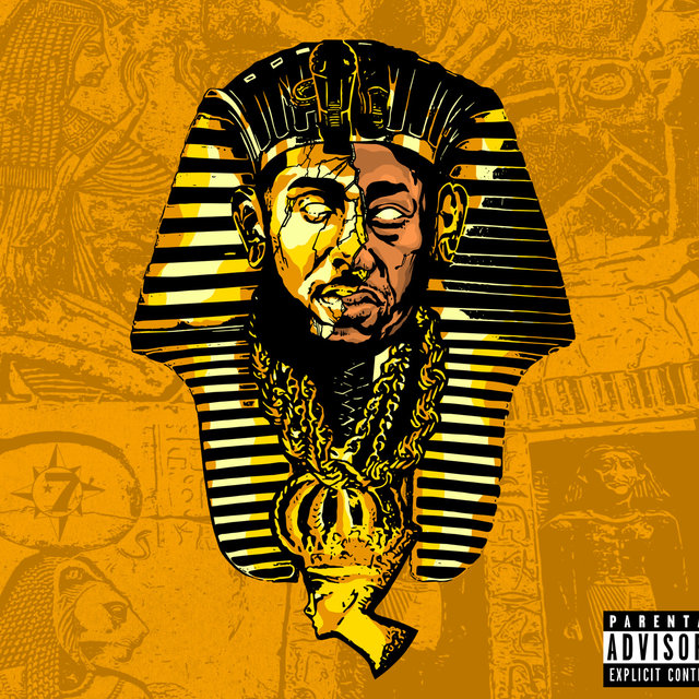 Cover art for album Pharoah Chain by Planet Asia, The Musalini