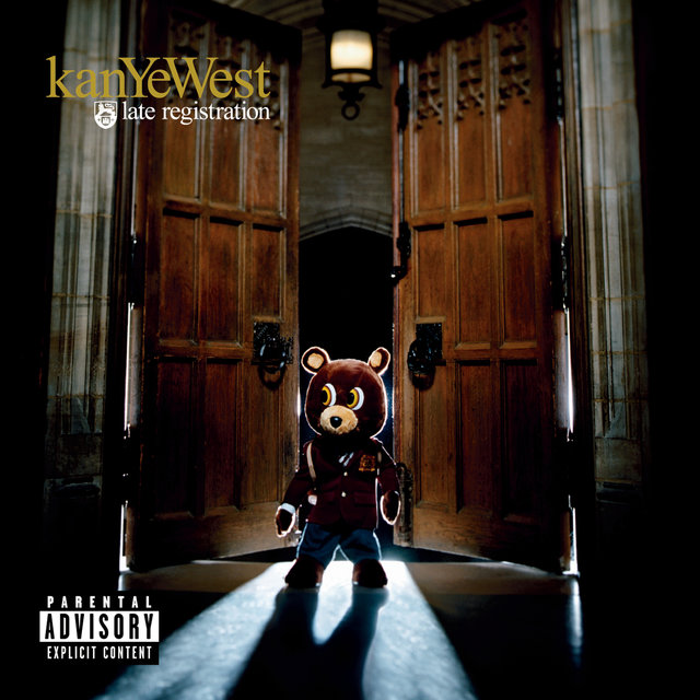 Late Registration (UK - CD album)