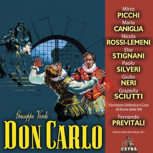 Cetra Verdi Collection: Don Carlo