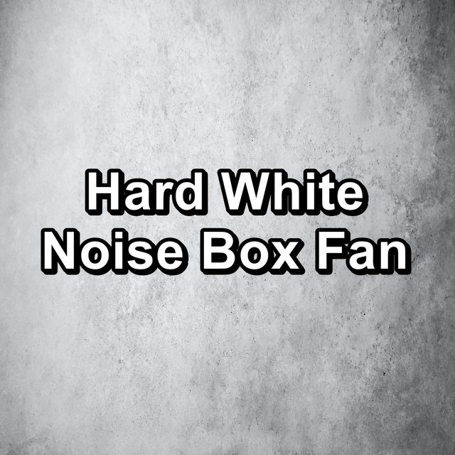Hard White Noise Box Fan