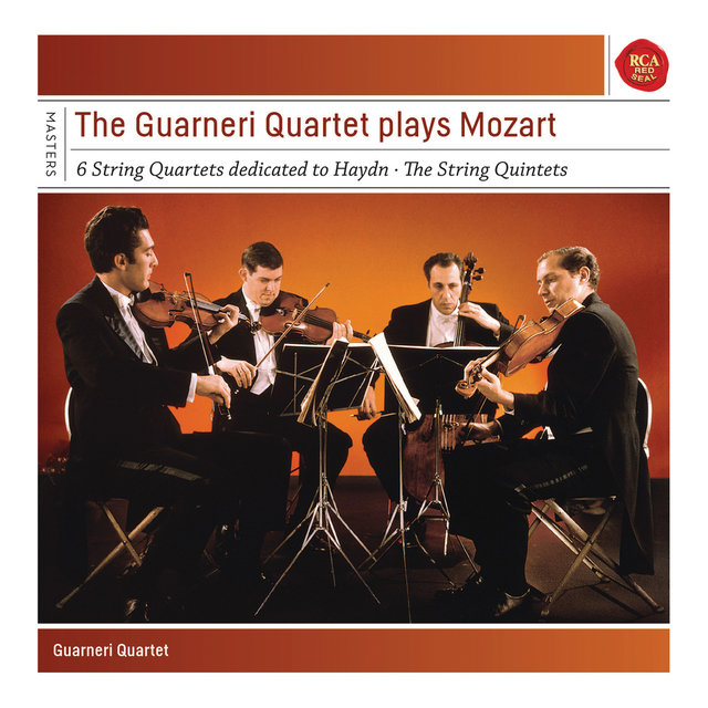 Guarneri Quartet plays Mozart Quartets and Quintets