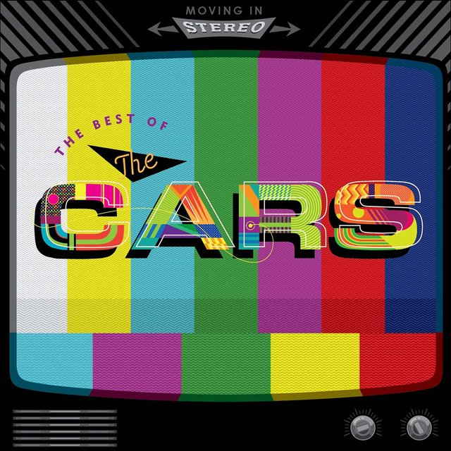 Cover art for album Moving in Stereo: The Best of The Cars by The Cars