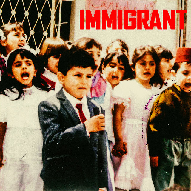Cover art for album IMMIGRANT by Belly