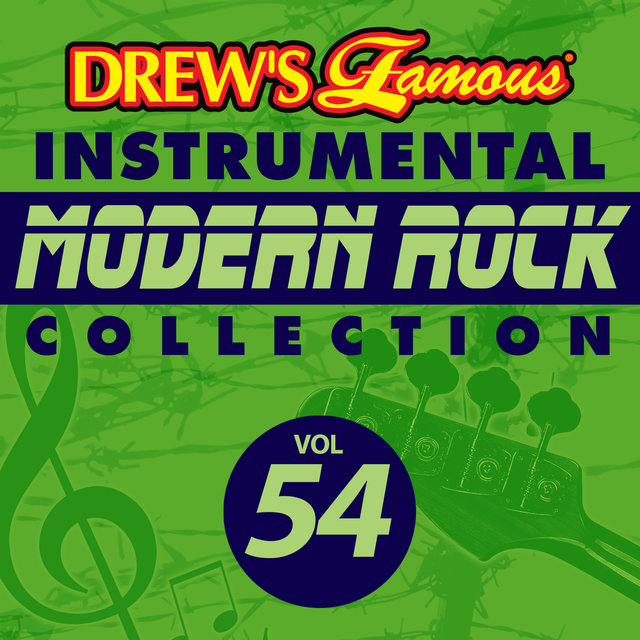 Drew's Famous Instrumental Modern Rock Collection (Vol. 54)