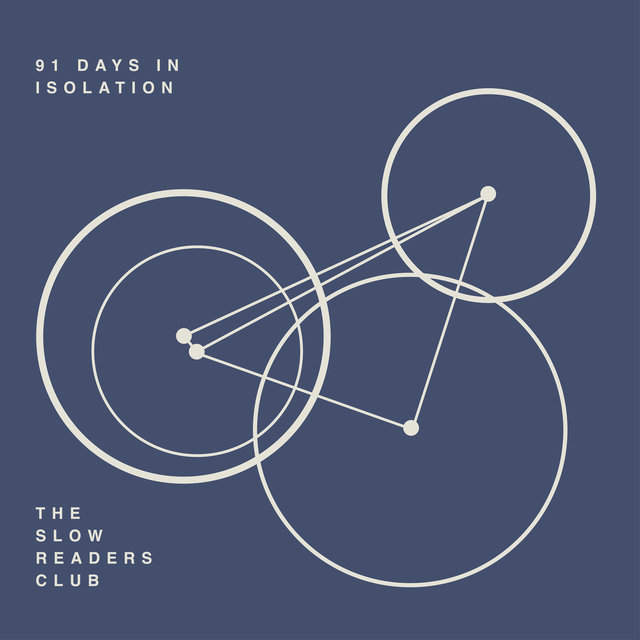Cover art for album 91 Days in Isolation by The Slow Readers Club