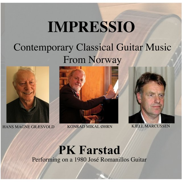 Impressio, Contemporary Classical Guitar Music from Norway