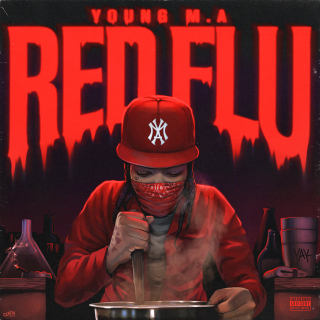 Cover art for album Red Flu by Young M.A