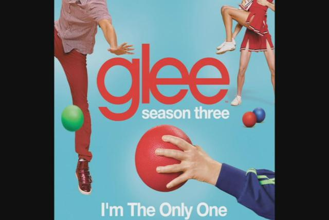 I'm The Only One (Glee Cast Version) (Cover Image Version)