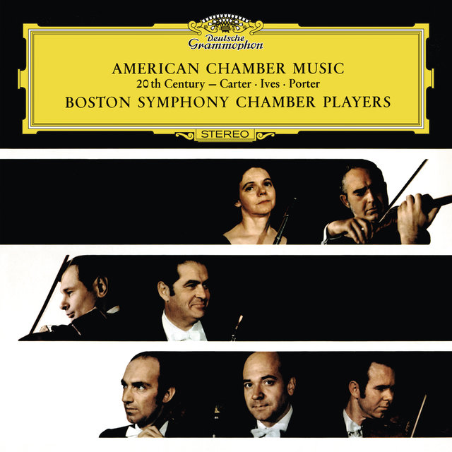 Carter: Sonata For Flute, Oboe, Violoncello And Harpsichord / Ives: Largo For Violin, Clarinet And Piano / Porter: Quintet For Oboe And String Quartet / Dvorák: String Quintet No.2 In G Major, Op.77, B.49