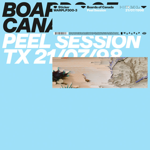 Cover art for album Peel Session by Boards of Canada, Warp Records