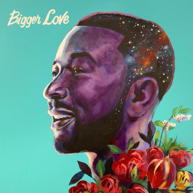 Cover art for album Bigger Love by John Legend