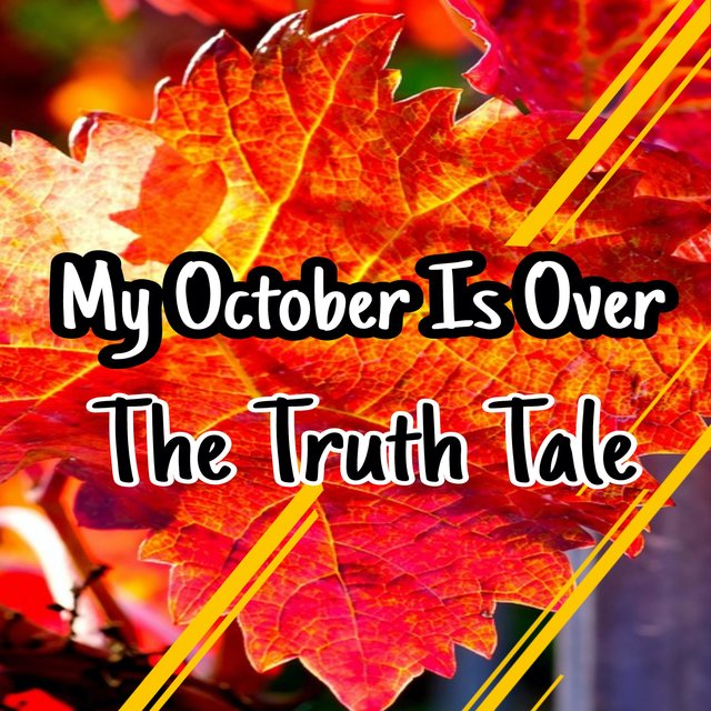 My October Is Over