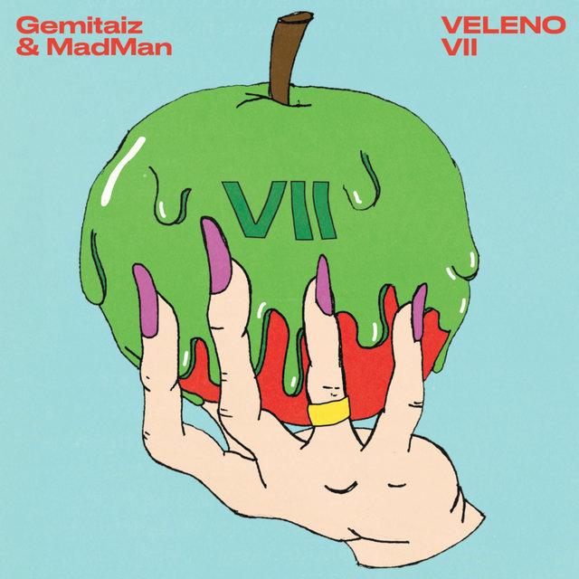 Cover art for album Veleno 7 by Gemitaiz, Madman