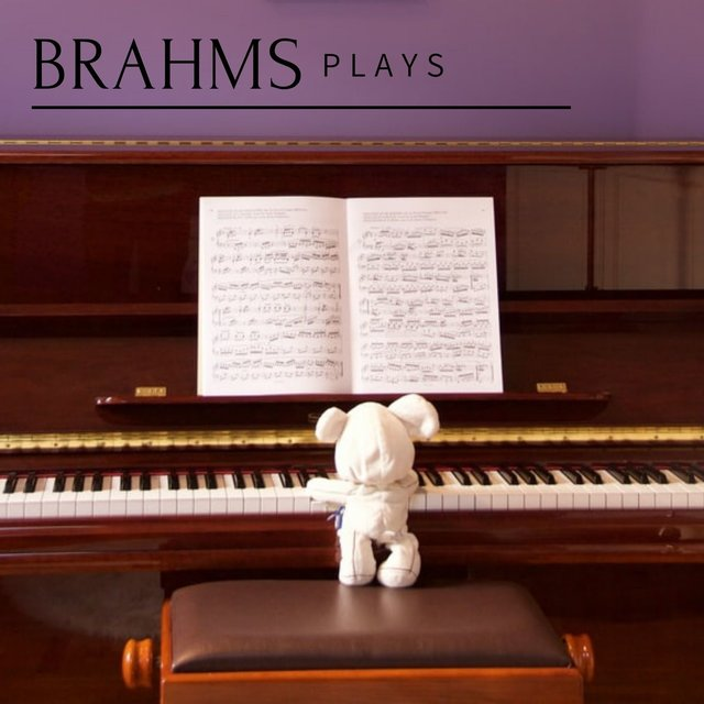 Brahms plays