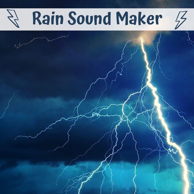 Rain Sound Maker - Sleep Sound, White Noise, Soothing Sounds for Sleeping & Relaxation,Therapy for Kid, Adult, Nursery, Home, Office,