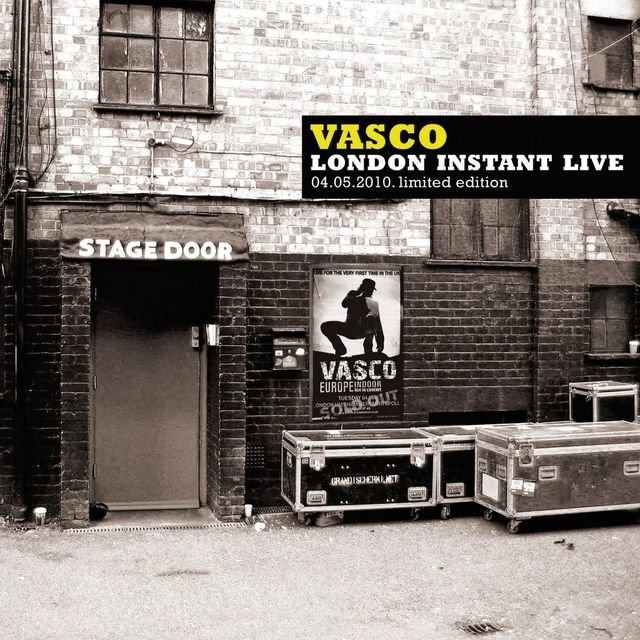 Vasco London Instant Live (04.05.2010 - Limited Edition)