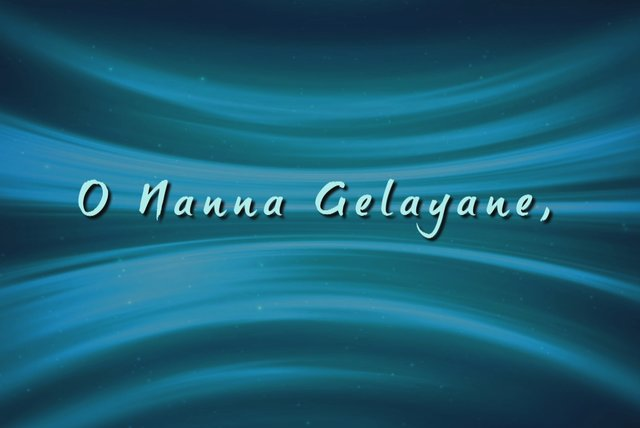O Nanna Geleyane (Lyric Video)