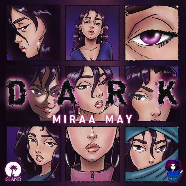 Cover art for album Dark by Miraa May