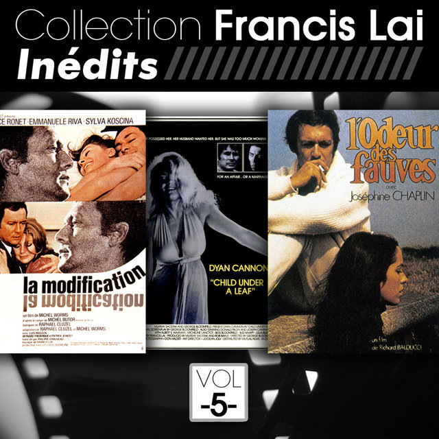 Collection Francis Lai: Inédits, Vol. 5 (Bandes originales de films)